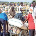 Bishop Oyedepo Distributes Relief Materials To IDPs In Maiduguri